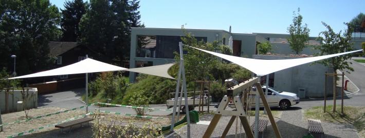 Sonnensegel Spielplatz