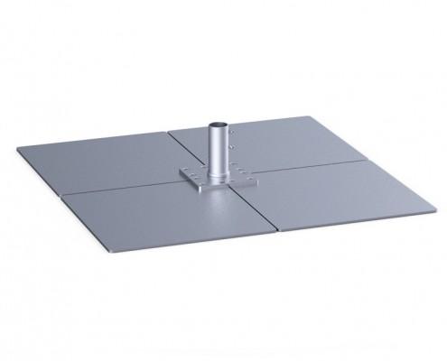 Standplatten aus Metall