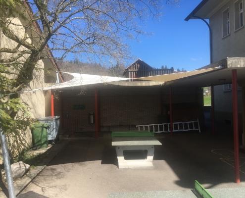 Sonnensegel Schulhaus Kirchbühl