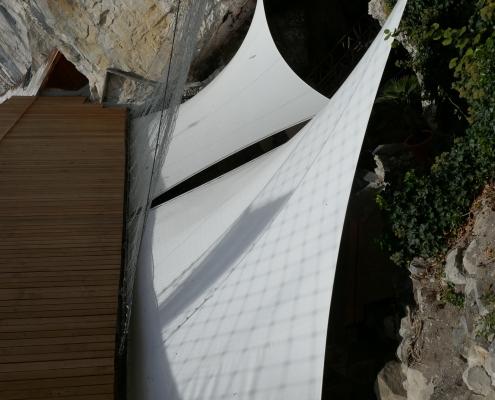 Sonnensegel Beatushöhlen